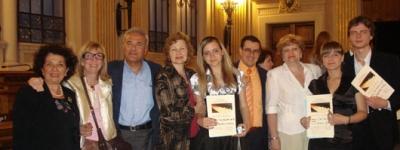 """VI Международный музыкальный конкурс """"Читта ди Пезаро"""" (Италия) 2009."""